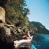 The Gulf Islands of British Columbia may be the undiscovered version of the San Juans, but they're not everyone's idea of paradise. There are hardly any beaches, and the water's too cold for swimming anyway. They're not even in a gulf: they were given their name because George Vancouver, who charted these waters in 1792, thought the Strait of Georgia, which separates Vancouver Island from the mainland, was enclosed on three sides. It was decades before anyone realized it's not, but by then…