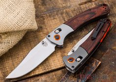 The BENCHMADE KNIVES: 15080-2 - HUNT - Crooked River - Stabilized Wood - CPM S30V, IN STOCK at Knives Ship Free. From day one, Benchmade has used the finest materials to produce the best knives possible.