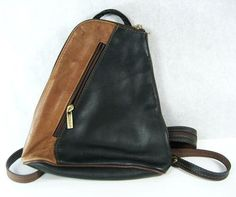 LaGaksta Stella Italian Leather Backpack Purse and Shoulder Bag ...