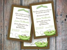 sweet pea baby shower invitation - Bing Images