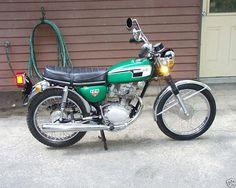 1972 Honda CB125 S