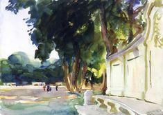 Spanish Midday, Aranjuez (John Singer Sargent)