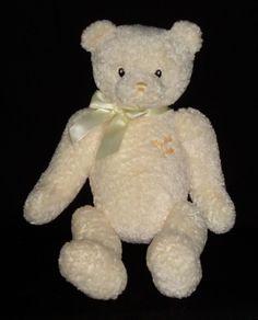 """GUND My First Teddy 16"""" Stuffed Animal Plushie #GUND"""