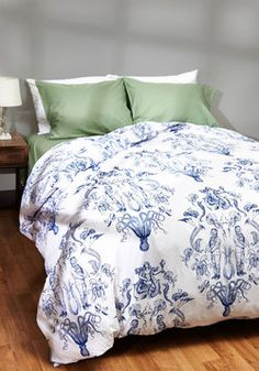 Maritime and Tide Duvet Cover in Full/Queen