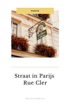 Straat in Parijs   Rue Cler