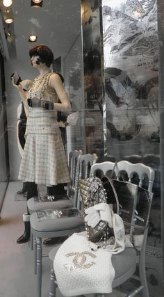 Paris Chanel window