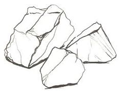 drawing realistic rocks - Google Search