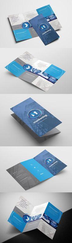 Free Church Tri Fold Brochure Template For Photoshop Illustrator