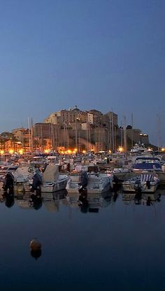 Calvi at night, Corsica, France | Kathryn Burrington Photography - #SomeroContest2015 by @RevezNexus