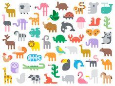 #animal #pictogram
