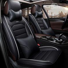 JAGUAR XJ Luxury Faux SHEEPSKIN FUR Car Seat Covers Front Pair