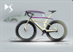 El Citroën Tiburón que se reencarnó en bicicleta