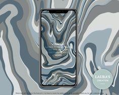 Read the full title Blue Marble Wallpaper | Digital Download | Cute Wallpaper | Boho | Minimalist | iPhone Wallpaper | Samsung Wallpaper