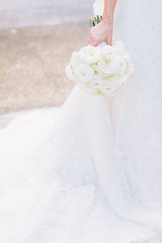 Bridal bouquet by Tara Guerard Soiree