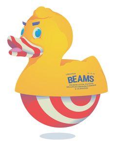 BEAMS the Animal on Behance