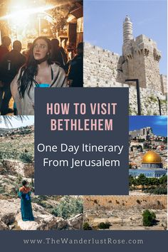 Travel Jobs, Ways To Travel, Birthplace Of Jesus, Visit Israel, Short Bus, Best Family Vacations, Israel Travel, Bus Ride, Easy Day
