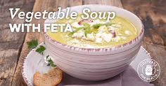 Vegetable Soup With Feta