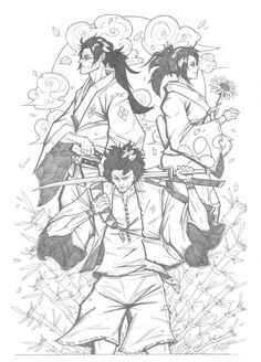 Samurai Champloo by LC-creations