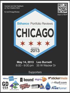 Chicago Behance Portfolio Review- Spring 2013 #BehanceReviews