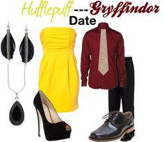 Hufflepuff Gryffindor Date