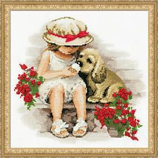 Riolis Counted Cross Stitch Kit - Sweet Tooth
