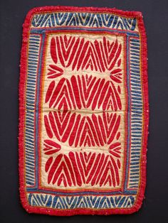 Gala (headdress), 24x40 cm, from Madhya Pradesh or southern Rajasthan Material cotton