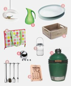 Go outdoors with your wedding registry.