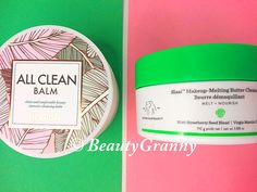 Drunk Elephant Slaai Makeup-Melting Cleanser против Heimish All Clean Balm отзыв. Слон и Моська? Strawberry Seed, Melted Butter, The Balm, Make Up, Chart, Cleaning, Beauty, Home Cleaning, Makeup