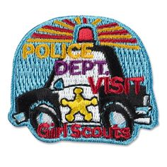 """Tie into Girl Scout Daisy Petal """"Respect Authority"""" An extra badge?  We could tour the town Police Station."""