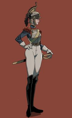 Fantasy Character Design, Character Design Inspiration, Character Art, Anime Military, Military Girl, Fantasy Comics, Anime Fantasy, Fantasy Characters, Cartoon Characters