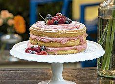 Naked cake de bicho de pé Receita de Milena Addad e Magloni Franco, do Addad Franco Gastronomi
