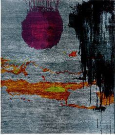 Lasiodora Hand Knotted Tibetan Rug from the Tibetan Rugs 1 collection at Modern Area Rugs