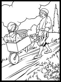 scenic coloring pages see more jack and jill the only surviving song from the circa 1918 akron club