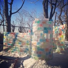 33 Ways To Build A Snow Fort You'll Want To Move In To Your teeth may chatter and your lips may turn blue, but it'll still be ridiculously awesome. Snow Activities, Winter Activities For Kids, Winter Crafts For Kids, Winter Kids, Winter Snow, Morning Sun, Snow Castle, Snow Much Fun, Snow Sculptures