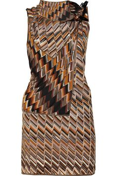 missoni | Missoni Dominique draped wool-blend dress