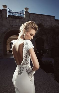 Elegant Wedding Dresses Collection With Lace And Low Cuts | Weddingomania