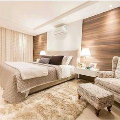"""658 curtidas, 3 comentários - D E C O R A Ç Ã O (@decoracomagente) no Instagram: """"Mais um quarto super luxuoso pra inspirar ❤ #decoracomagente #quartocasal"""""""