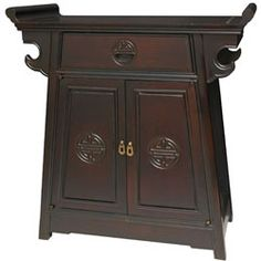 Rosewood Altar Cabinet (China) | Overstock.com Shopping - Top Rated Coffee, Sofa & End Tables