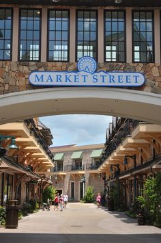 Market Street at the Island in Pigeon Forge.