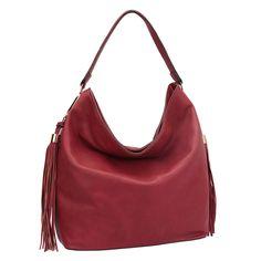 New Fashion Luxury Women Fringe Studded Leather Hobo Shoulder Bag Purse Handbag