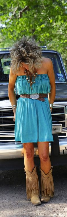 nice color.......and wow on the boots ! http://HotWomensClothes.com/country-outfitter