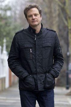 Colin Firth in Chiswick
