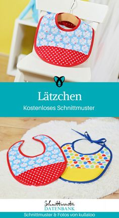 Bib Babylatz Sewing for babies First-time gifts for birth Free sewing pattern Free sewing instructio Sewing Patterns Free, Free Sewing, Free Pattern, Mama Baby, Cluck Cluck Sew, Birth Gift, Gift Of Time, Baby Kind, You Are My Sunshine