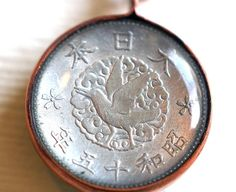 Japanese Coin Pendant by Lorinda3LJewelry on Etsy - $20.00