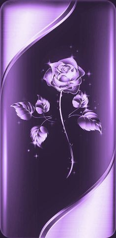 Purple Roses Wallpaper, Glitter Phone Wallpaper, Pretty Phone Wallpaper, Flower Phone Wallpaper, Pretty Wallpapers, Cellphone Wallpaper, Colorful Wallpaper, Phone Wallpapers, Dark Purple Aesthetic