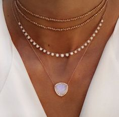 Dainty necklaces!!