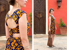 Love this! Tie Back Dress Tutorial - Melly Sews 30 Days of Sundresses - Sew a Sundress with a Free Pattern