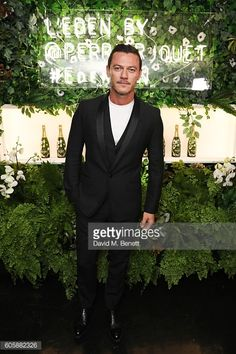 Luke Evans celebrates the re-opening of TOD's Flaship Boutique at Loulou's on September 15, 2016 in London, England.
