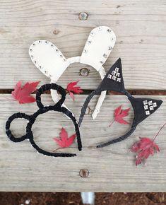 Animal Headband DIY - A BEAUTIFUL MESS @jan issues Youngcourt Heart do you still need ears?