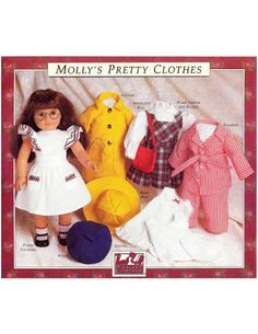 Mollys_Pretty_Clothes_All_ - Elesy Lena - Picasa Web Albums  - Free American girl pattern, would just have to adjust it slightly for Sasha Doll